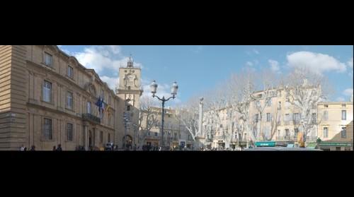 Place de la Mairie, Aix en Provence, France