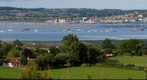 View of Exmouth from Cofton Holidays in Dawlish
