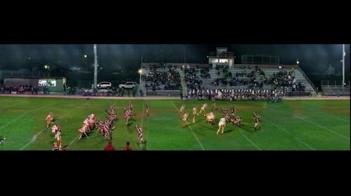 California -> Cupertino -> Cupertino High School football field (vs Monta Vista)
