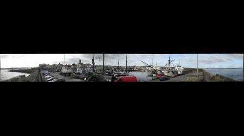 Penzance harbor