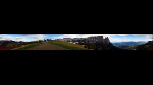 Panoramica desde el Alpe de Suisi