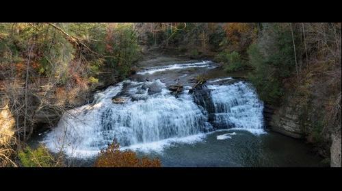 Burgess Falls - Middle Falls