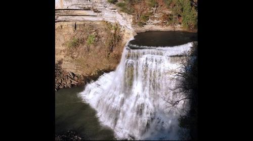 Burgess Falls - Big Falls