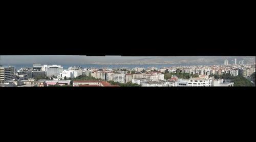 Izmir from Hotel Ademon Fuar