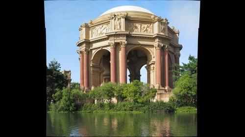 Palace of Fine Arts - Closeup