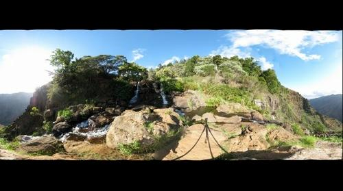 Top of Waipoo Falls