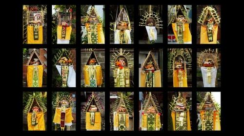 Bali festive offerings