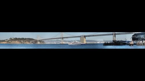 California -> San Francisco/Oakland -> Bay Bridge