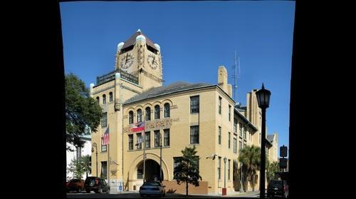 Historic Chatham County Court House (Savannah, GA USA)