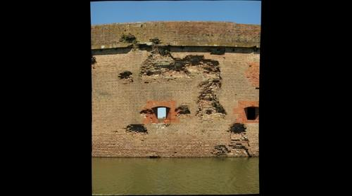 Fort Pulaski National Monument - South Wall (Tybee Island, GA USA)
