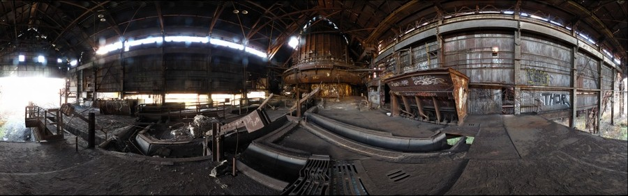 Cast House of Carrie Furnace No. 6