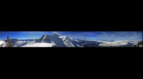 Desde el Aguille du Midi. Chamonix