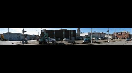 East Liberty--Sheridan and Harvard construction