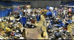 The Pit Area at Pittsburgh's FIRST Robotics Competition