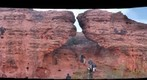 Fall day climbing at Turtle Rock, St. George Utah