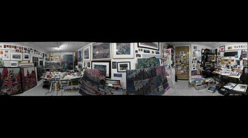 Studio of Nina Weiss November 2009