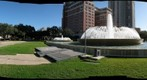 November Morning Vista of Mecom Fountain - a 360-Degree Panorama
