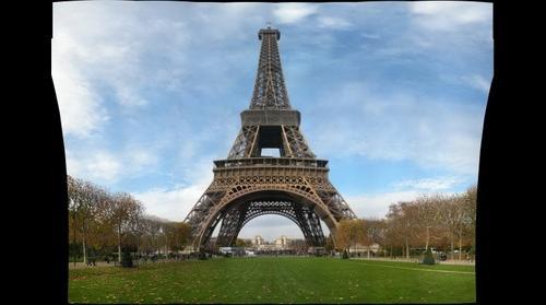 Tour Eiffel, Champs de Mars