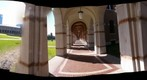 Cloister Intersections - a 360-Degree Panorama