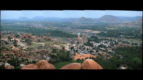View of Hampi, India