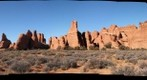Arches National Park, trail to broken arch