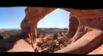 Trail to broken arch