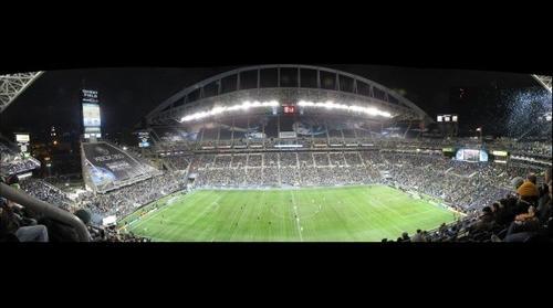 MLS Cup 2009 (w/David Beckham) : USA -> Seattle -> Quest Field