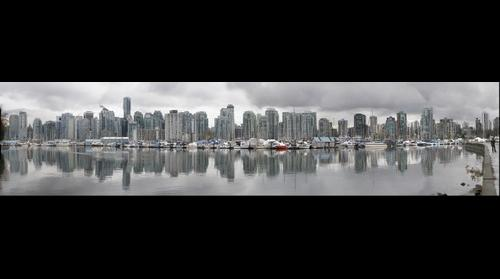 Canada -> British Columbia -> Vancouver skyline from Stanley Park