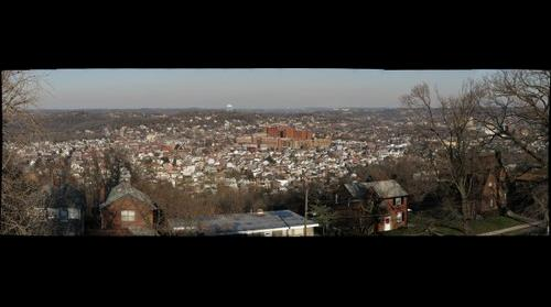 Bloomfield Panorama from Herron Hill, Dec. 1, 2009