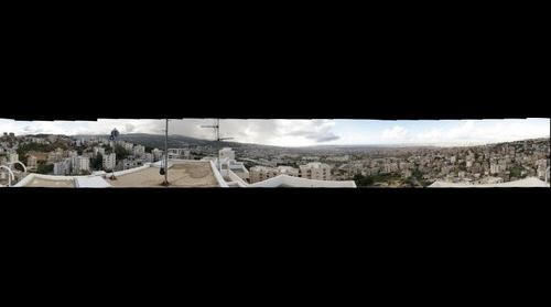 Beirut and suburbs, 360 degrees - flattened