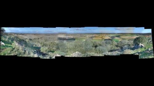 Vista del Valle de Valverde, con Mozar , Villaveza de Valverde , Navianos , Villanazar, Vecilla de Transmonte , Colinas , Zamora España etc