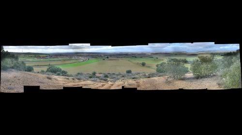 Vista del Valle de Valverde, con Mozar , Villaveza de Valverde , Navianos , Villanazar, Vecilla de Transmonte , Colinas , Zamora España etc 2
