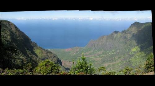 pihea trail kauai canyon na pali