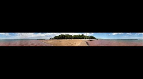 Panoramica da Praia de Santa Terezinha de Itaipu - PR - Foto: Joel Donin