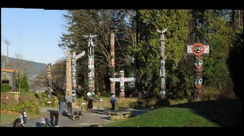 Vancouver Stanley Totem Poles