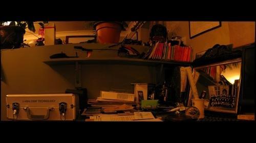 Corner of the study