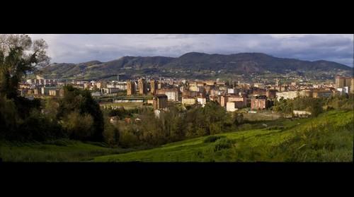 Panorámica de la ciudad de Oviedo