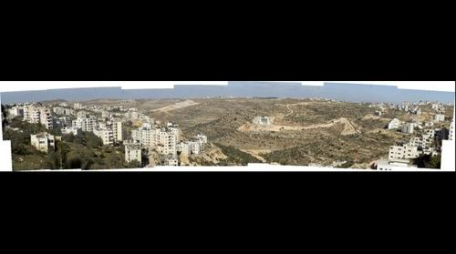Ramallah, View towards North and North West