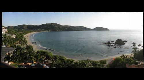 Playa la Ropa From Above