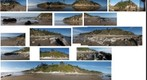 091214 Arroyo Burro Hendry beach bluffs Santa Barbara collage of pans