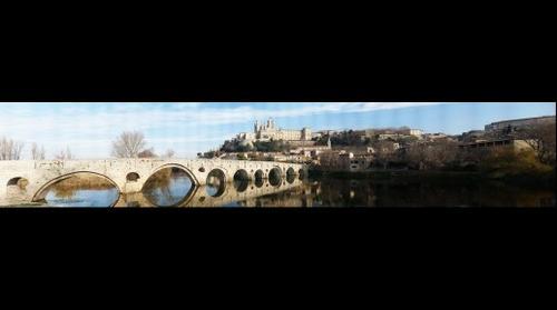 Cathédrale Saint-Nazaire et  Pont-Vieux