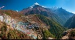 Namche from Helipad