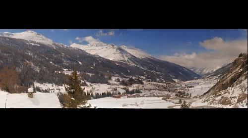 Lanslevillard depuis le Col de la Madeleine