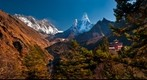Tengboche, Everest, and Ama Dablam