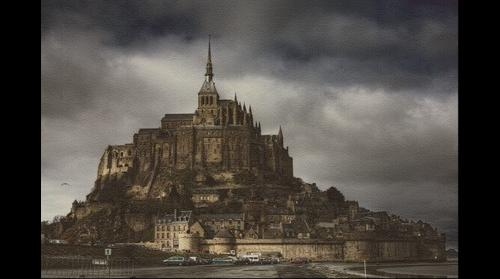 Mosaïque du Mont St Michel