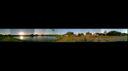 Panoramica do Lago Municipal de Toledo-PR - Foto: Joel Donin