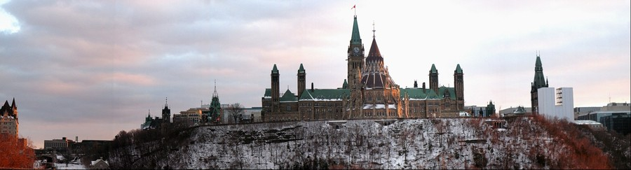 Canada's Parliament Hill, Ottawa, Ontario