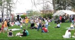 Earth Day in Peace Park, Columbia, Missouri, 2007