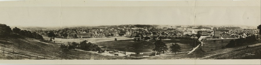 Oakland, Pittsburgh, Pennsylvania in 1897