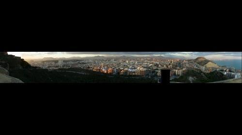 Alicante desde el Castillo Santa Barbara v 1.0 beta 2.0